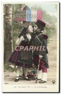 Old Postcard Fantasy Children Germany France Militaria