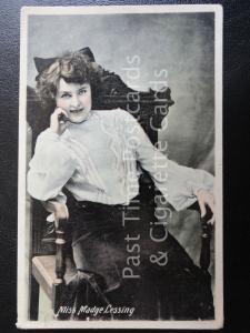 c1905 RPPC - Actress: Miss Madge Lessing