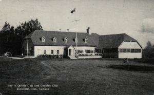 BELLEVILLE , Ontario, Canada, 1941 ; Golf & Country Club