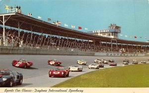 spofrts Car Classic, Daytona International Speeway Auto Race Car, Racing Unused