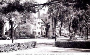 Evanston, Illinois - Sorority Houses at Northwestern University - in the 1940s