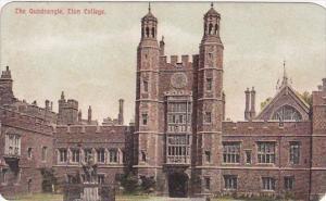 England Berkshire Eton College The Quadrangle