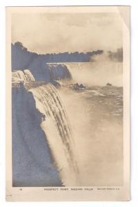 Niagara Falls Prospect Point NY Rotary Photo Postcard c 1910