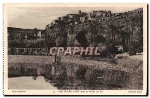 Morocco Old Postcard The ouled Ghir in the valley of Zis