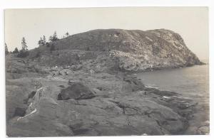 RPPC Maine Coast Boothbay Harbor ca 1910 J.A. Labbie
