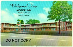 Wedgwood Arms Motor Inn, Bangor Me