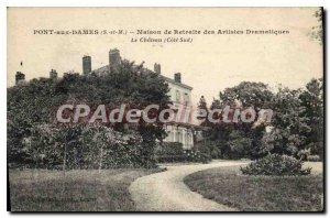 Postcard Old Bridge Dames S and M house Dramatic Artist Retreat The south coa...