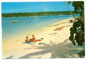 On The Club's Beach, Moorea, Tahiti, Oceania, 1950-1970s