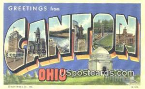 Canton, OH Postcard      ;      Canton, Ohio Post Card Canton OH Unused