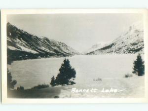 old rppc LAKE BENNETT Carcross - Near Whitehorse Yukon Territory YT W0798