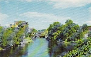 Through Watertown Flows The Powerful And Picturesque Black River Rochester Ne...