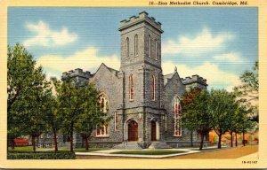 Maryland Cambridge Zion Methodist Church Curteich