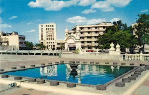 Fountain in front of Hotel, Nairobi, Kenya, 40-60s