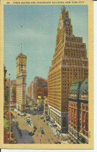 New York City, Times Square and Paramount Building
