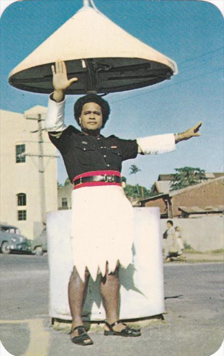 Fijian Policeman , 50-60s