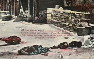 china, HONG KONG, Executed Criminals by Linchi Cutting (1910s)