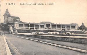 Belgium Namur Stade des Jeux et l'Hotel de la Citadelle