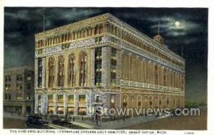 Fine Arts Bldg Grand Rapids MI Unused