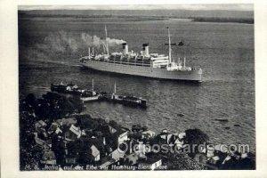 MS Italia Enlarged Continental Size Ship Ocean Liner Unused