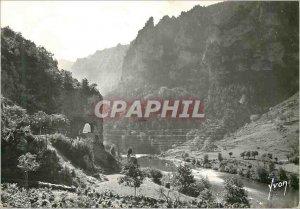 Postcard Modern Gorges du Tarn Lozere Surroundings Malene Tarn and the Tunnel...
