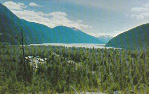 Canada Aerial Picture Of Stewart British Columbia