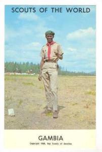 Gambia Boy Scout, 1968