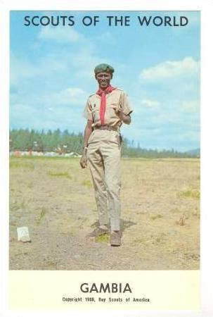 Gambia Boy Scout, 1968