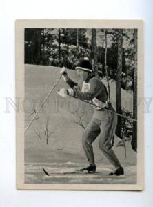 166989 VII Olympic ALEVTINA KOLCHINA skier CIGARETTE card