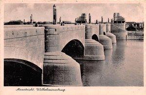 Wilhelminabrug Maastricht Holland Unused