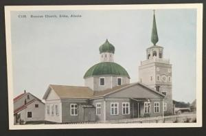 Russian Church Sitka Alaska HH T Co C128