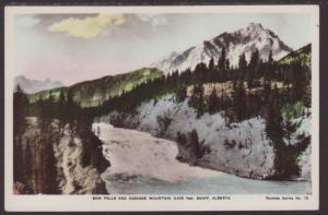 Bow Falls,Cascade Mountain,Alberta,Canada Postcard