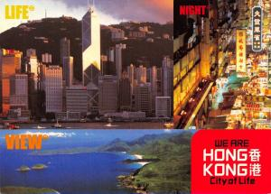 Hong Kong Postcard Multi View, We are Hong Kong, City of Life T61