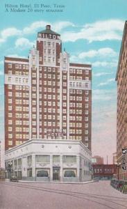 Texas El Paso Hilton Hotel Curteich