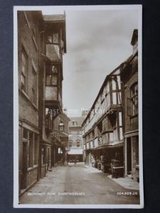 Shropshire SHREWSBURY Butchers Row c1927 RP by Valentine 204309
