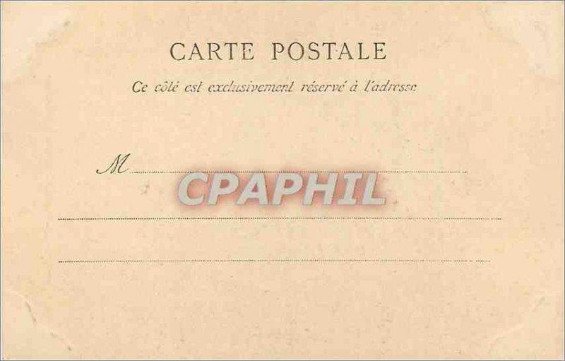 Old Postcard Corbeil Gate Cloitre Saint John (1900 card)