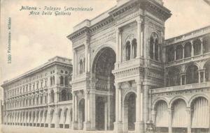 Italy Milano Palazzo Settentrionale Arco della Galleria 02.16