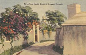 Thread & Needle Street, St. Georges, Bermuda, 1930-1940s