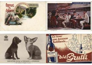 CPA PUBLICITÉ RECLAM ADVERTISING COLLECTION 450 Cartes Postales (L3711)