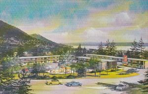 Canada British Columbia Vancouver Maples Motor Lodge 1965