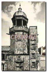 Postcard Riom Old Clock Tower