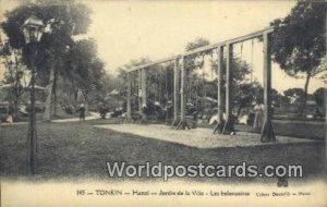 Hnoi, Jardin de la Vilie Tonkin Vietnam, Viet Nam Writing on back