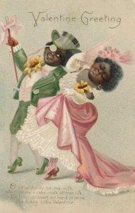 VALENTINE , Fancy Dressed Couple , 1901-07