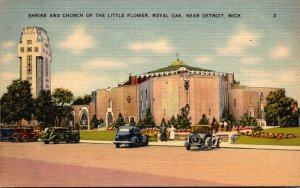 Michigan Royal Oak Near Detroit Shrine and Church Of The Little Flower
