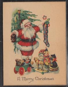 Santa Card   Approx. 3 x 4