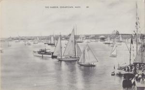 Edgertown, Mass. - The Harbor - 1941