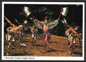 North Carolina - Cherokee Indian Eagle Dance- [NC-096X]