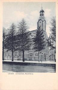 Leiden Holland Universiteit Rapenburg Leiden Universiteit Rapenburg