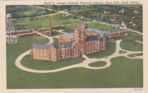 South Dakota Sioux Falls Royal C Johnson Veterans Memorial Hospital 1958 Curt...