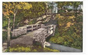 Trail View and Rustic Bridge, Shkamak State Park, Jasonville, Indiana, 00-10s