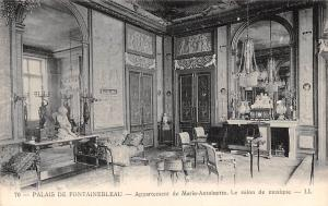France Palais de Fontainebleau Appartement de Marie Antoinette Le Salon